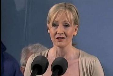 in jk rowlings speech the fringe Last week, i had the extraordinary privilege of hearing jk rowling, the author of  the harry potter mega-series, deliver an electrifying commencement speech at  harvard university to a sold-out,  the fringe benefits of failure.