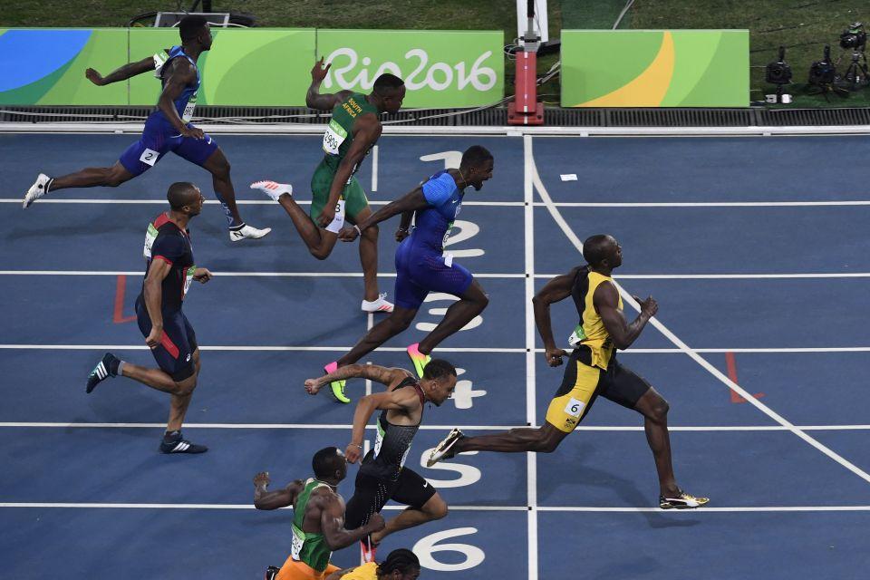 100 metres Usain Bolt