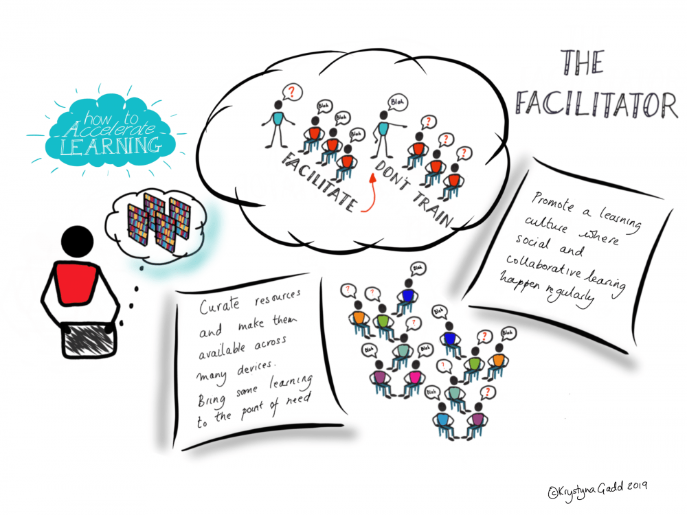 the facilitator illustration
