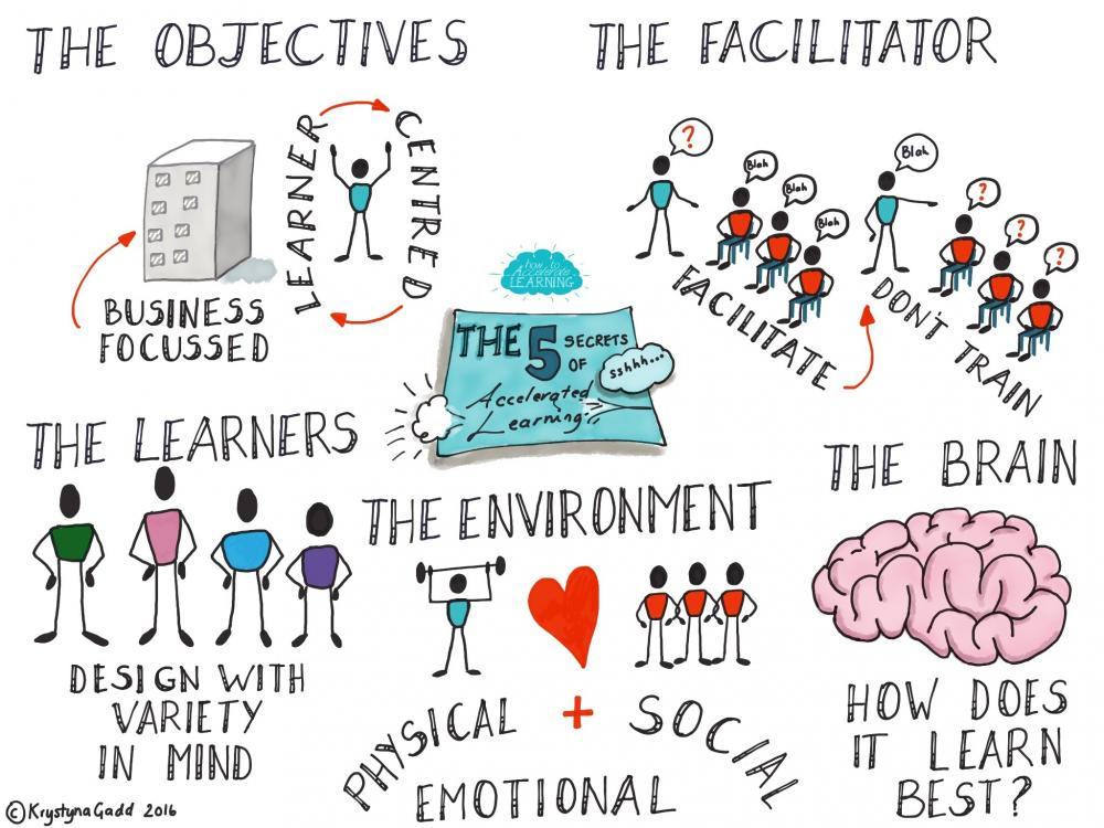 the five secrets of accelerated learning