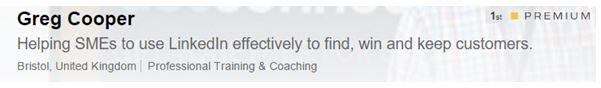 LinkedIn title