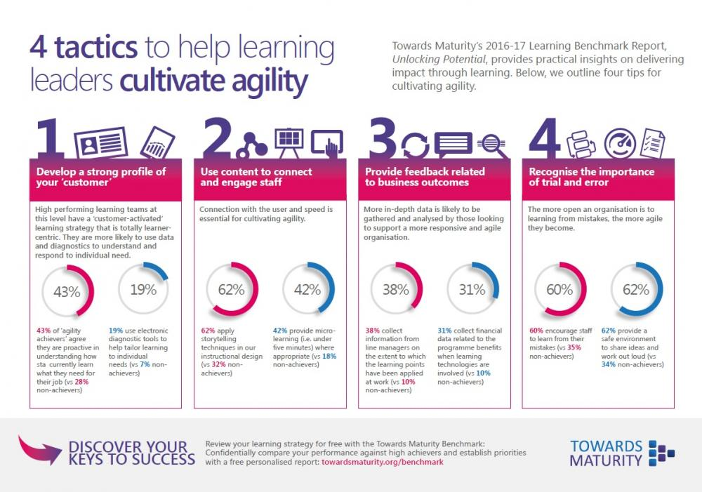 Towards Maturity Learning Agility Infographic