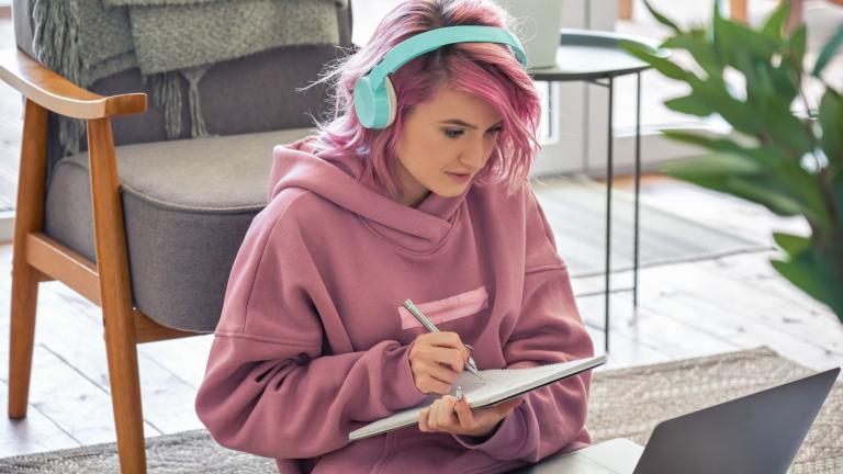 Unemployed teenager
