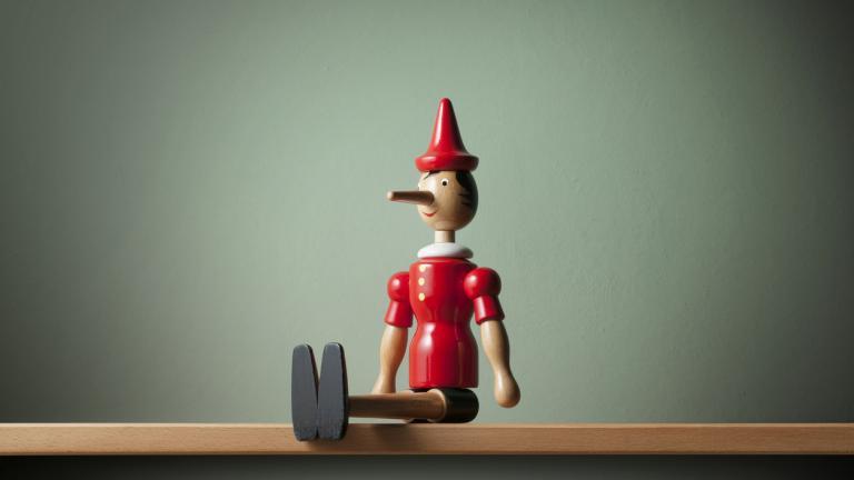 Pinocchio - when data lies