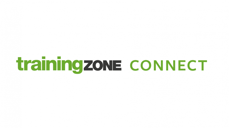 Training Zone Connect logo (right align)