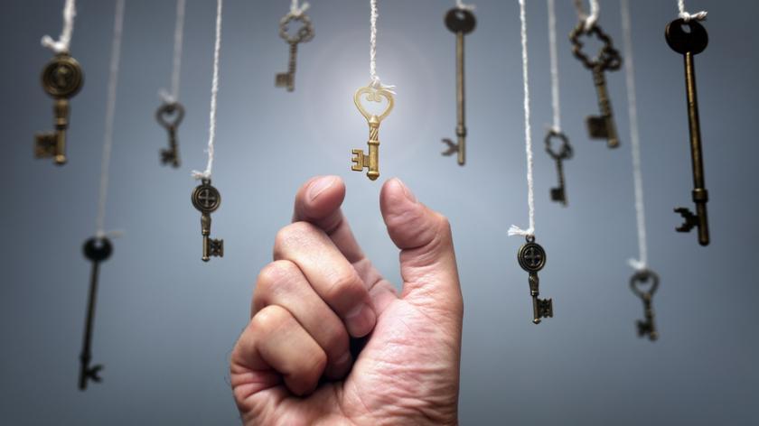 Unlocking - finding the key