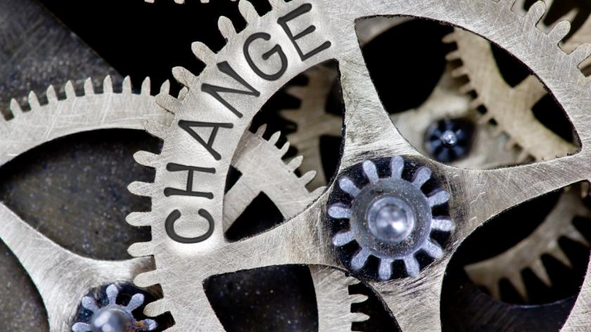 cogs of change turning