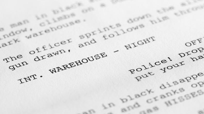 Screenplay close up