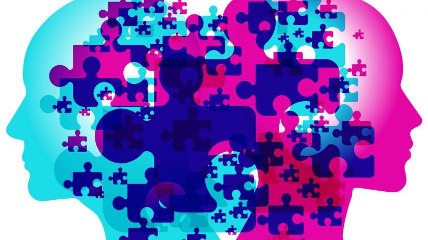 emotional intelligence concept - filling the gaps
