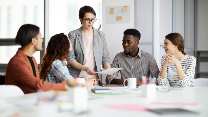 Manager coaching apprentices