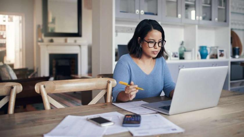 Employee learning at home