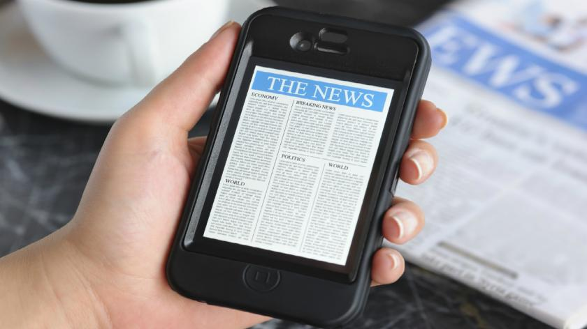 News on the tablet