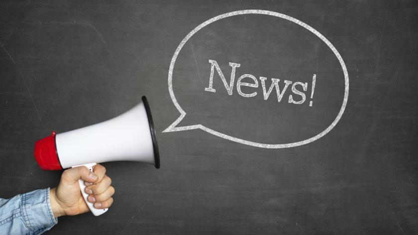 News and a megaphone