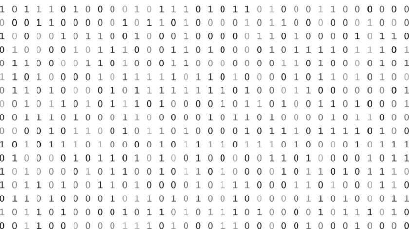 Binary text