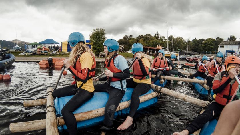 raft team building
