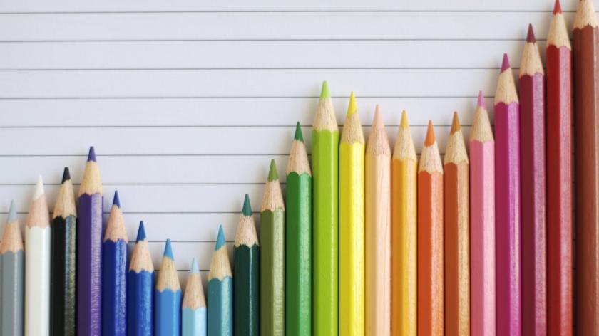 Coloured pencil graph