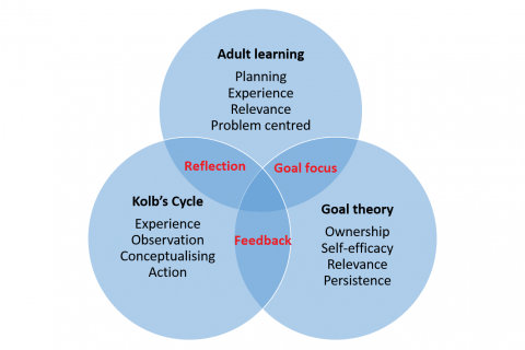 Three learning styles graphic