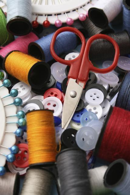 Sewing Still Life Mend